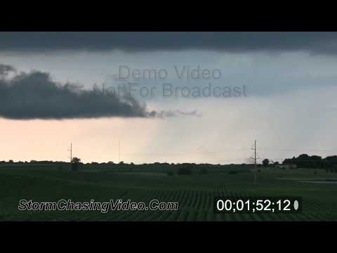 8/1/2011 Thunderstorm B-Roll Stock Footage