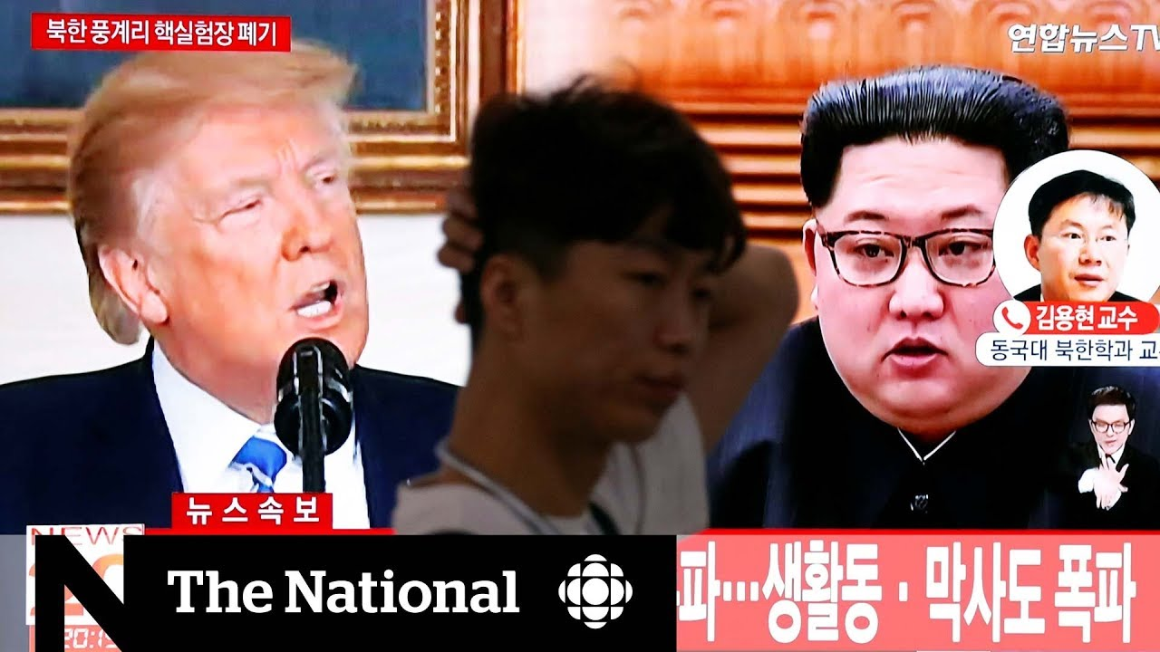 Trump cancels summit with Kim Jong-un