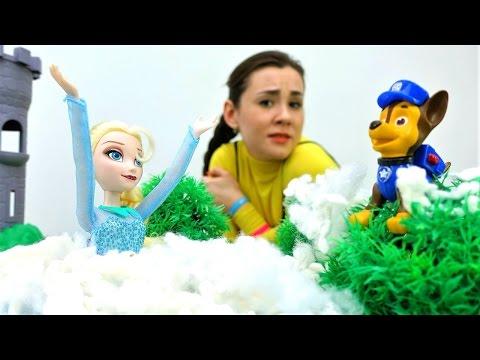 Кто сделал снег летом? Куклы из Холодного сердца