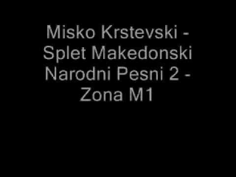 Misko Krstevski - Splet Makedonski Narodni Pesni Vo Zivo 2 Hq - Zona M1 video