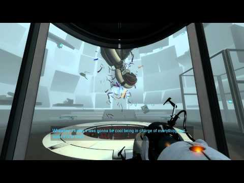 Glados Portal 2 Lines Portal 2 pc Glados Battle