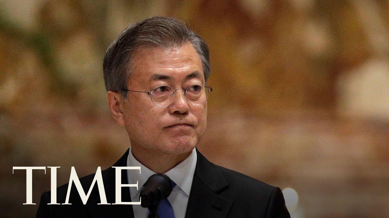 South Korean President Moon Jae-In Speaks Of Peace During Vatican Visit   TIME