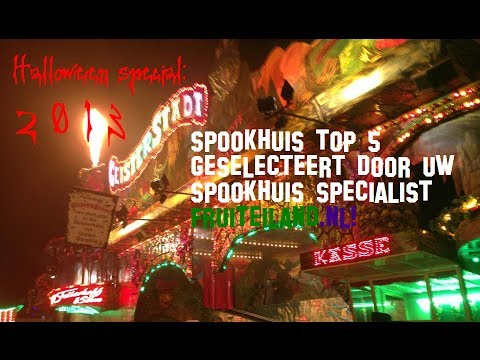 Spookhuis top 5 2013
