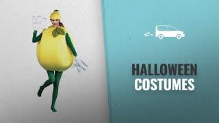 Peter Alan Men Halloween Costumes [2018]: Lemon Adult Costume, Standard One-Size, Yellow