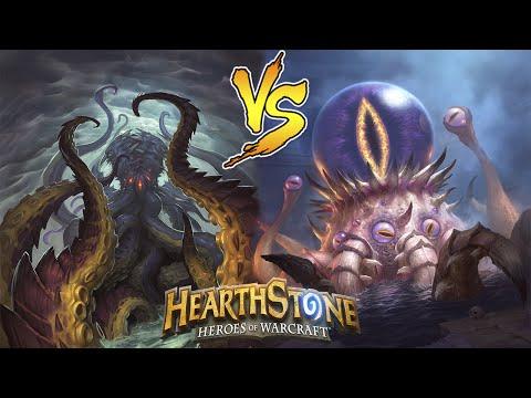 Hearthstone: Н'Зот против К'Туна [Хартстоун]