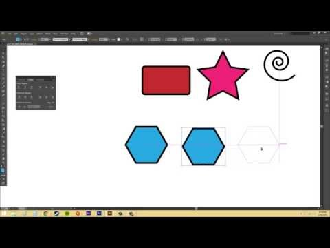 Adobe Illustrator CS6 for Beginners - Tutorial 32 - Align and Distribute
