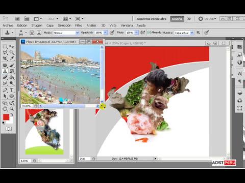 Curso a Distancia de Photoshop CS5, CS6, CC Curso de Diseño Gráfico