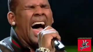 R Kelly I Believe I Can Fly Voice