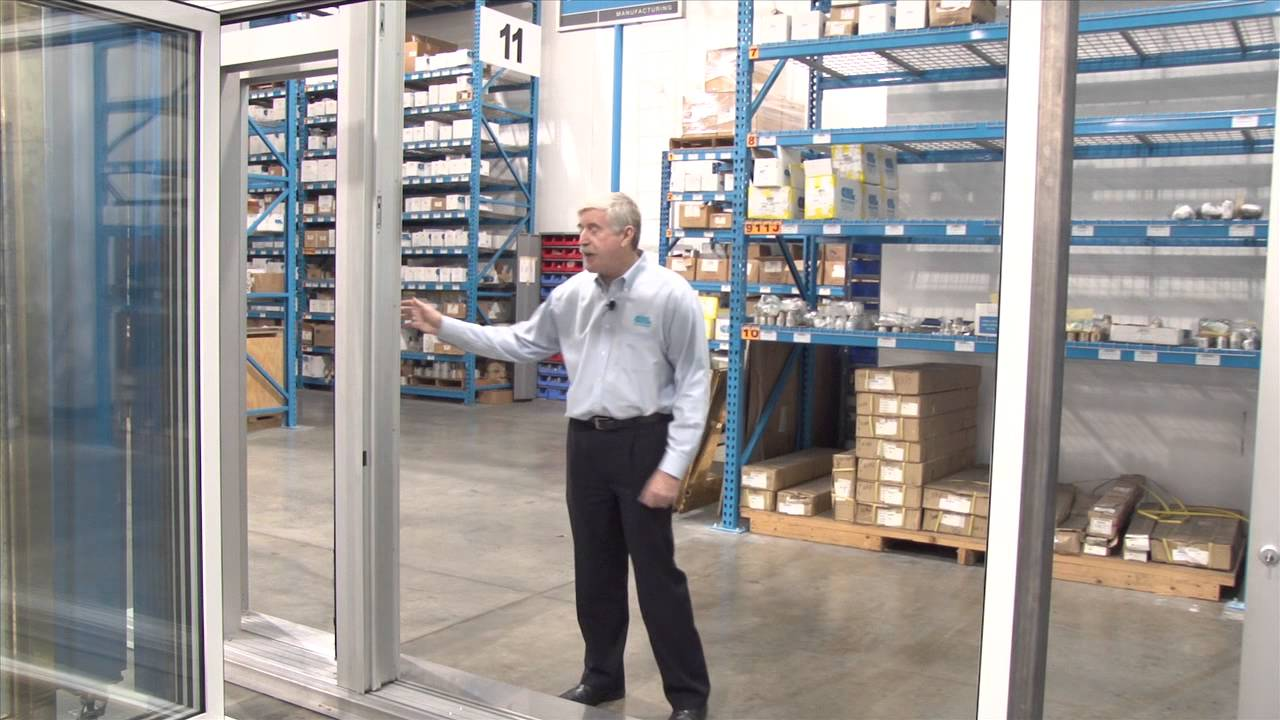 Series E1200 Elephant Door Operable Storefront System From