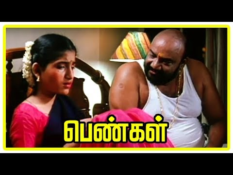 Pengal - Santhana Bharathi Cheats Santhoshi video