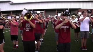 Carolina Band Plays LSU Alma Mater