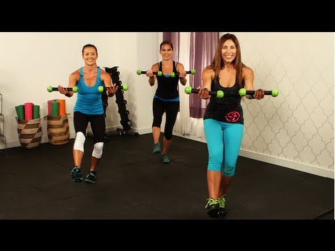 Zumba Workout, Full Body Fitness, Class Fitsugar video