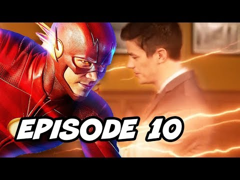 The Flash Season 4 Episode 10 - TOP 10 WTF and Comics Easter Eggs thumbnail