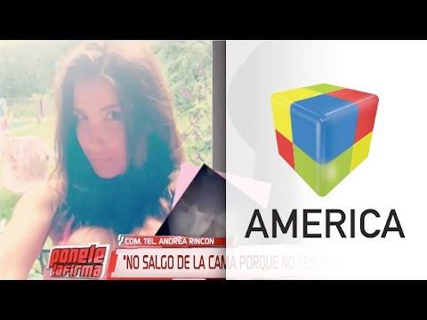 Andrea Rincón sobre Lara Pedroza: Me sostiene de pie
