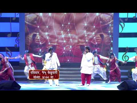 Anand & Adarsh Shinde Perform Together || Mirchi Music Awards - Marathi video
