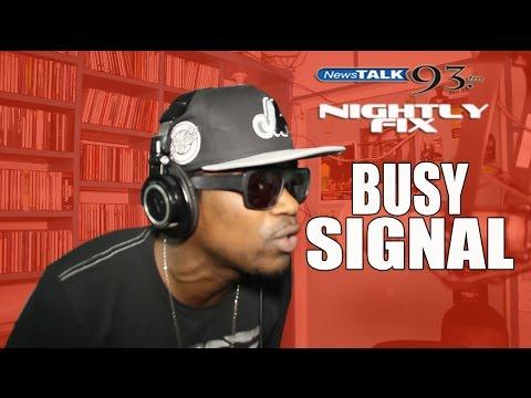Busy Signal Freestyle nightlyfix video
