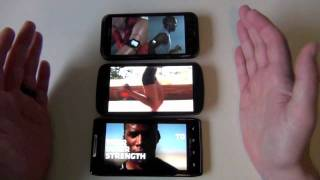 Screen Comparison_  DROID RAZR vs. Galaxy Nexus vs. HTC Rezound
