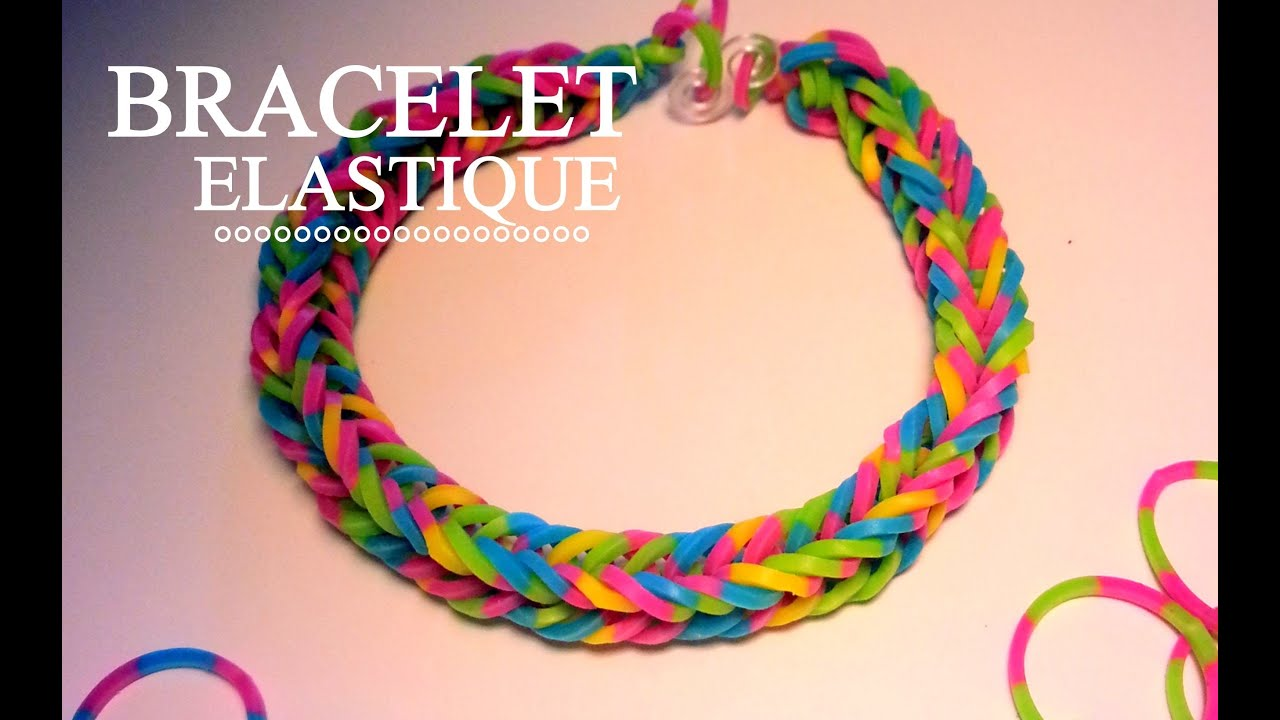 Comment faire un bracelet lastique sans machine youtube - Comment faire des bracelets en elastique ...
