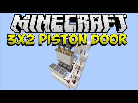 Piston Door 3x2 3x2 Piston Door
