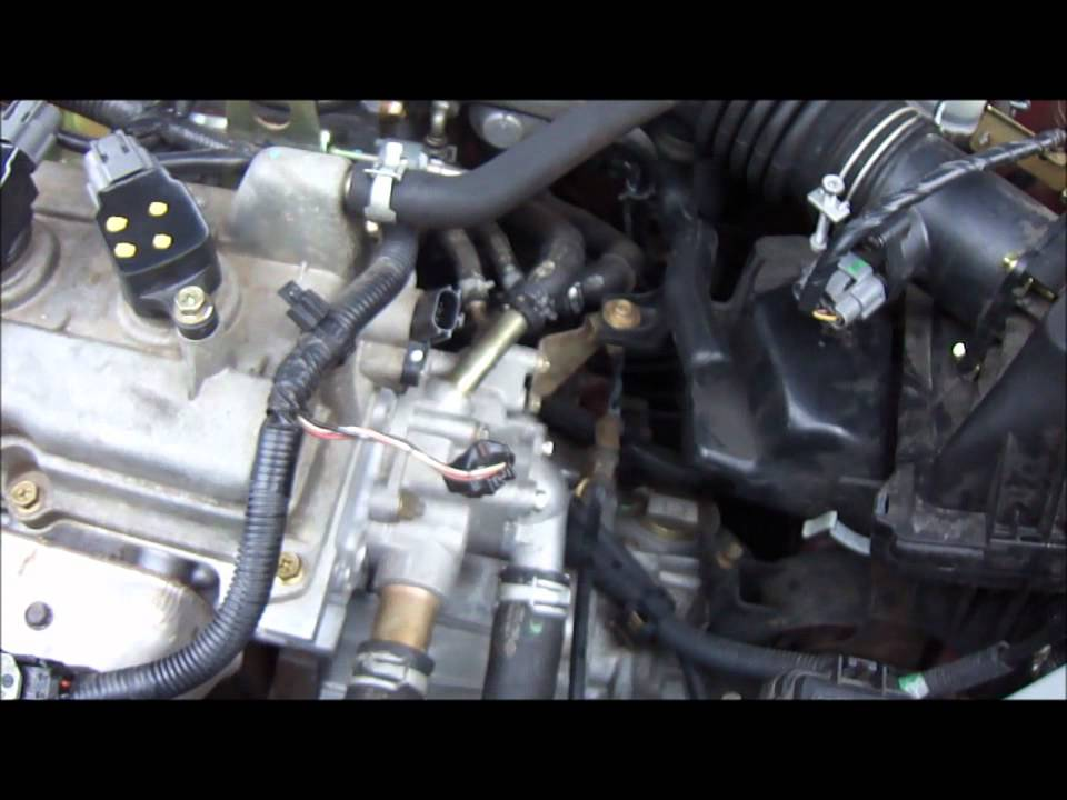 2004 sentra 1 8l camshaft position sensor replacement