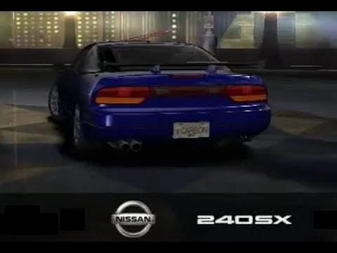 Need For Speed CARBON. Я и моя укуренная тень.