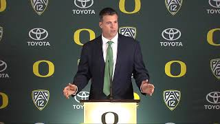 Mario Cristobal Introductory Press Conference