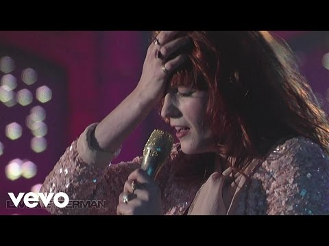 Florence + The Machine - You've Got The Love (Live on Letterman)