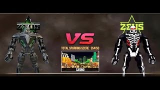 REAL STEEL Zeus VS ZEUS Halloween New Robots UPDATE (Живая сталь)