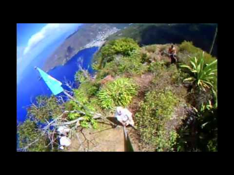 Operating from the Top of Petit Piton on St Lucia
