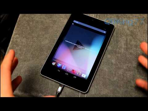 Manually Update Google Nexus 7 to Android 4.2.1 Jelly Bean