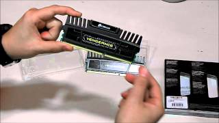 [UNBOXING] - CORSAIR VENGEANCE 16GB ( 2 x 8GB ) Kit DDR3 (CMZ16GX3M2A1600C10)