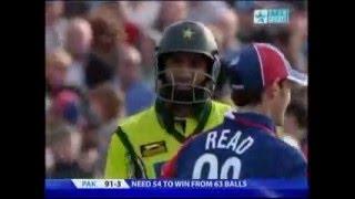 England VS Pakistan t20 cricket 2006