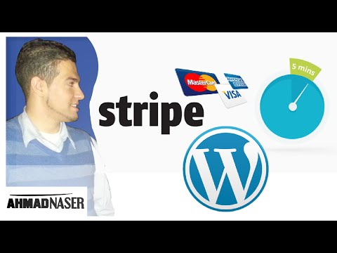 Stripe with wordpress integration and donation in 3 minutes