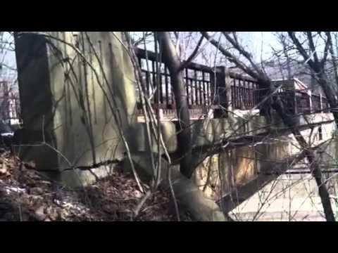 Mystery road bridge Explained Rt 18 Wampum Pa