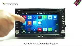 Hot Eonon G2110ZV 2 Din Android Car DVD with 4.4.4 KitKat OS & Wifi, 3G & Capacitive Touch Screen