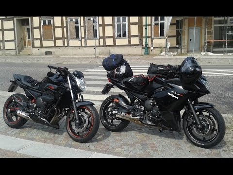 Yamaha XJ6   Ixil Hyperlow L3X vs. Ixil Conical Shorty  -  Soundcheck