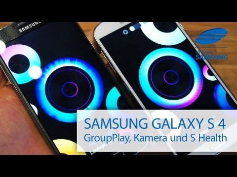 Samsung Galaxy S4 Testbericht Review Teil 3: Group Play, S Health und S Translator
