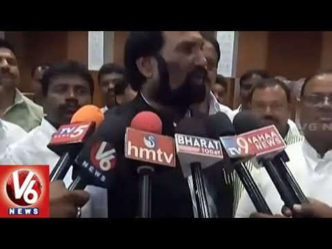 Congress Leaders Holds Meeting On Arrangements For Rahul Gandhi Telangana Tour | V6 News
