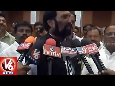 Congress Leaders Holds Meeting On Arrangements For Rahul Gandhi Telangana Tour | V6 News