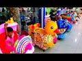 Lagu Mainan Anak Naik Odong odong mobil mini Binatang Lucu yang banyak sekali bersama teman