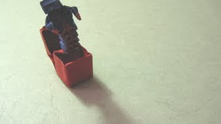 Origami Instructions: Jack In A Box (hugo Pereira)
