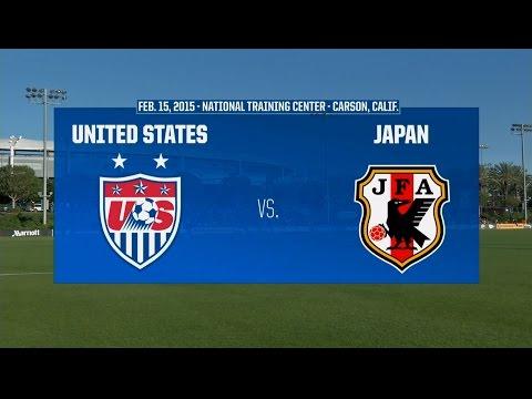 2015 Under-17 Women's NTC Invitational: USA vs. Japan