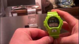 """The Kermit"" Green Casio G-Shock Watch Review: G6900GR-3 from the Go Green Collection (rare)"