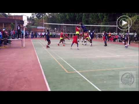 UZ Wolves Vs Black Rhinos Harare Volleyball League
