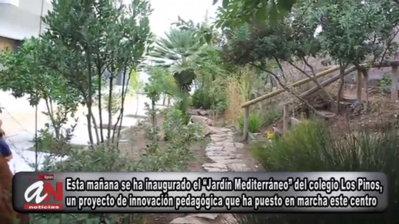 Inauguracion del jardin mediterraneo del colegio los pinos - El jardin mediterraneo ...