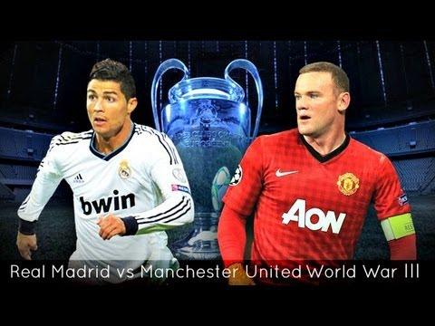 Real Madrid vs Manchester United - World War III - 2013 Promo 2nd Leg