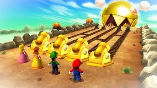 Mario Party 9 Boss Rush - Mario Vs Luigi Vs Peach Vs Daisy (Master Cpu)