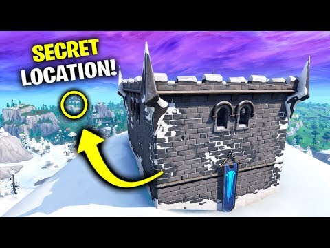 Say Hello To This SECRET Location (Fortnite Season 7)