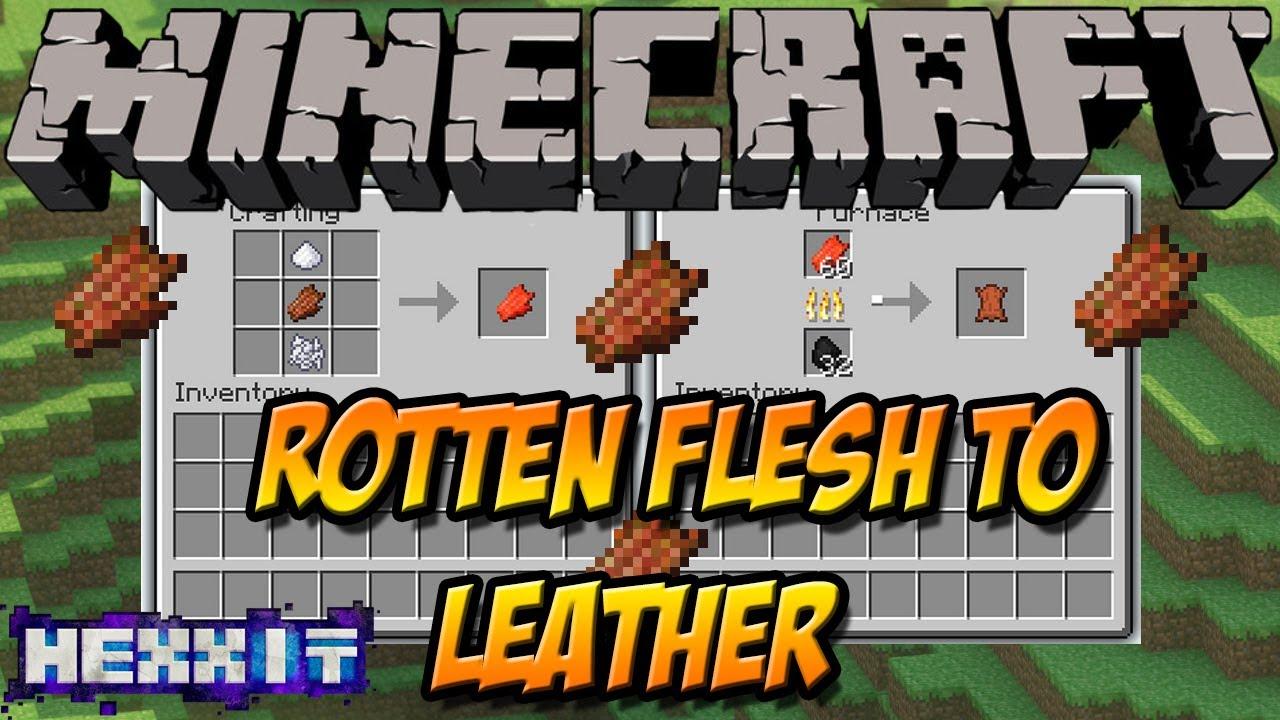 Minecraft Leather Mod to Leather Mod | Minecraft