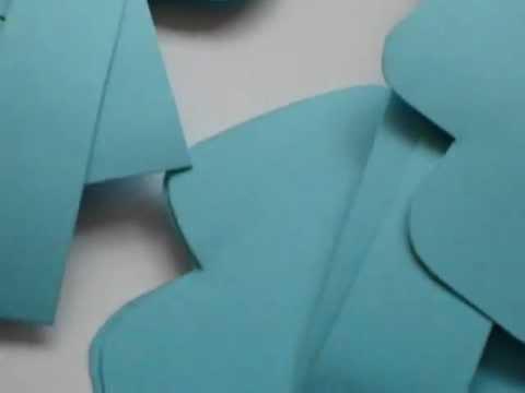 cestinhas para lembrancinhas batizado - YouTube